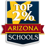 Achievements - Top 2 Percent of Arizona Schools