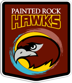 Painted Rock Academy Hawks Mascot