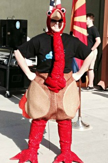 Miss McMillan as Turkey 3