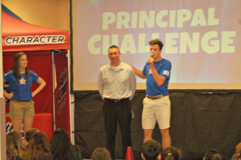 Boosterthon kickoff principal challenge 2